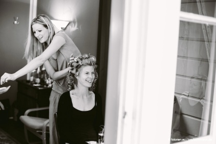 Haare, Make up, Styling. Danke an Conny!