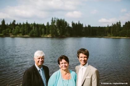 ...mit Stefans Eltern
