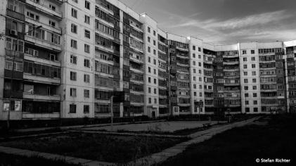 Ulan Bator - eine einfache, große Stadt.