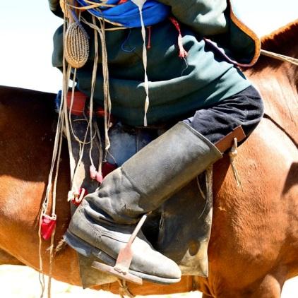 Reiter beim Naadam-Fest.