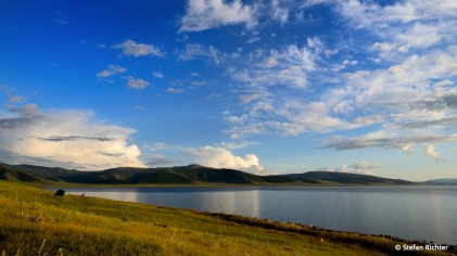 Am weißen See - Tsagaan Nuur.