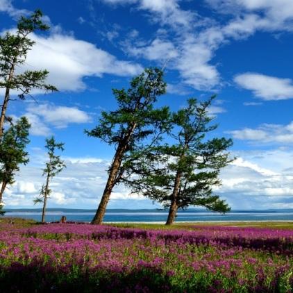 Der Khuvsgul-See.
