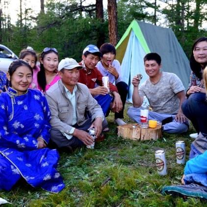 So machen die Mongolen Ferien.