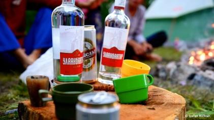 Wodka-Party...