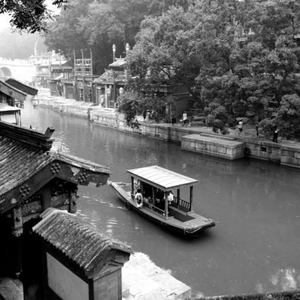 Gondelfahrt durch den Summer Palace, Suzhou Street