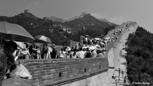 Ostasien. The Great Wall / Badaling