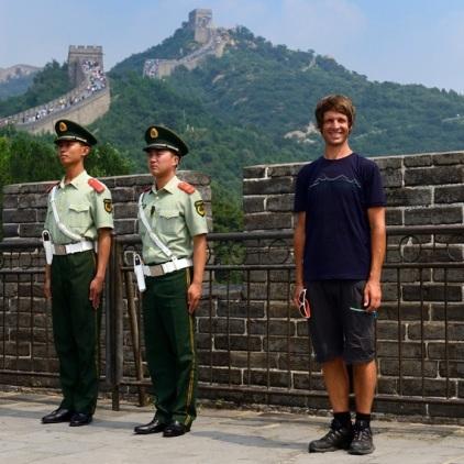 Stillgestanden! Und nicht von den Touristen ärgern lassen.