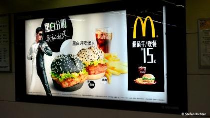 Black Burger @Mc Donalds