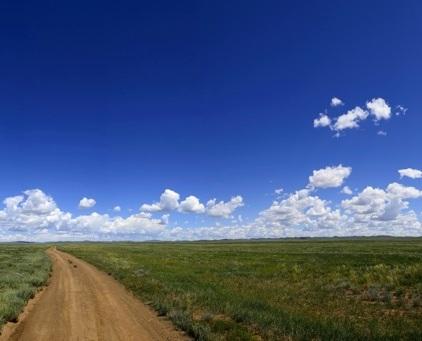 Steppen-Panorama