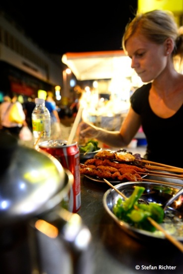 Abendessen in China Town / KL