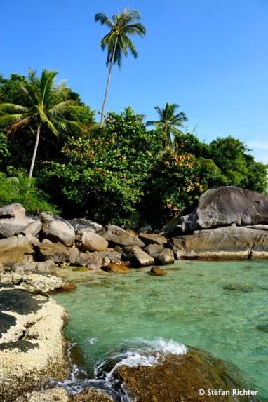 Die schöne Seite der Insel.