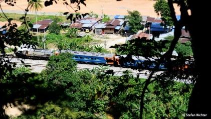 Rückfahrt nach Gua Musang.
