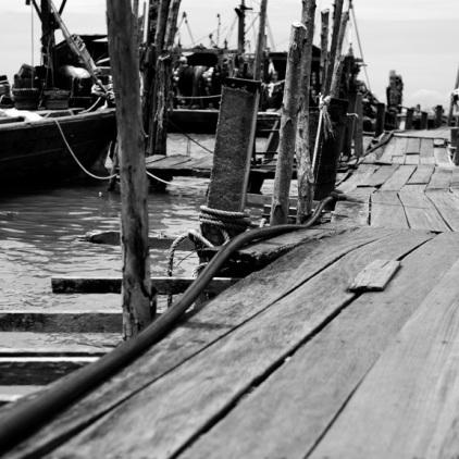 Ausflug nach Teluk Bahang - Fisherman Village