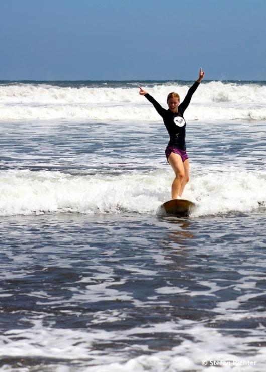Tag 2: Wieder im Weißwasser, aber Julia steht...