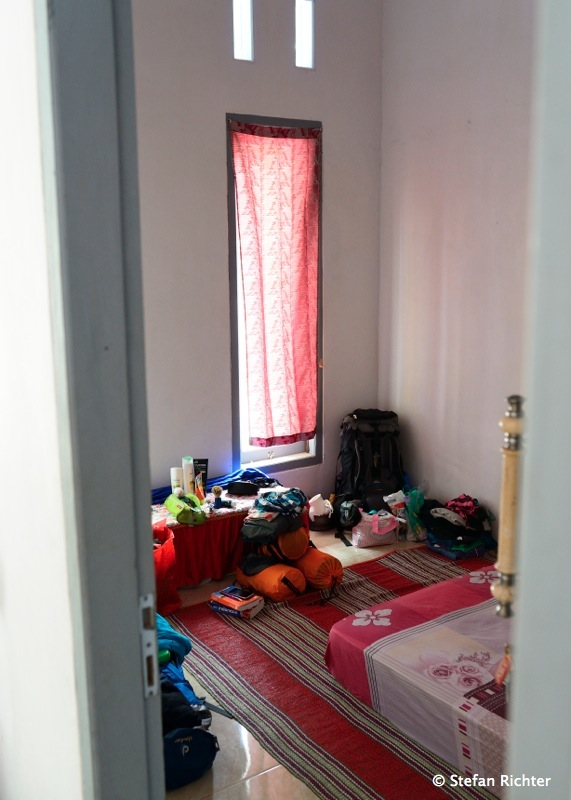 Inside. Der Rucksack kann ausgepackt werden, denn alles ist sauber und riecht gut.