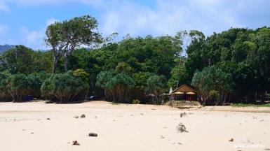 Jogis Bar - direkt am Strand und unser zweites Zuhause.
