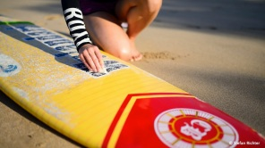 Surfbrett wachsen...
