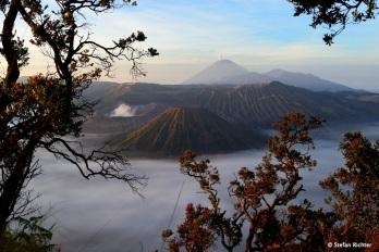 Zum Sonnenaufgang geht es für die meisten Leute auf den 2.770 m hohen Gunung Penanjakan.