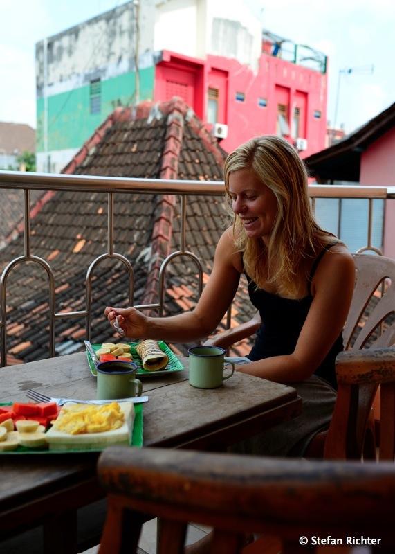 Frühstück in Yogyakarta.