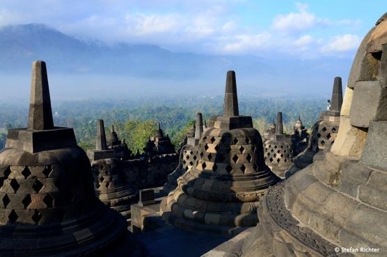 Was Angkor Wat in Kambodscha ist, ist Borobudur in Indonesien.