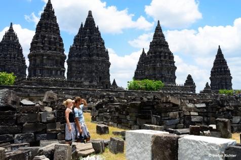 Look for new horizons! Prambanan ist die größte hinduistische Tempelanlage Indonesiens.