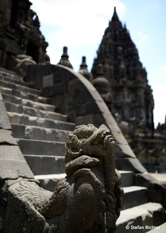 Auch Prambanan wurde 1991 zum UNESCO Weltkulturerbe erklärt.