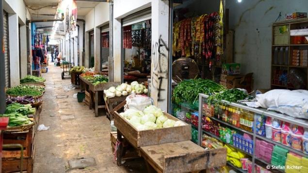 Die Markthalle von Cijulang.