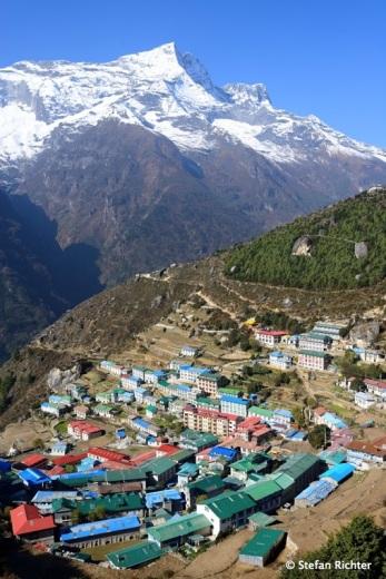 Namche Bazaar / 3.440 m.