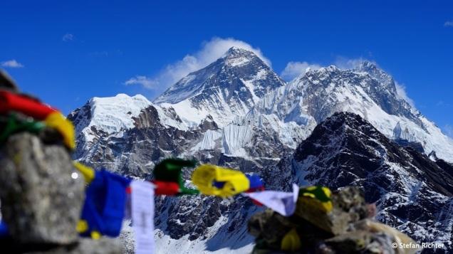 Der Everest das erste mal ganz nah.
