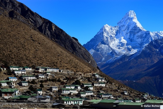 Das Sherpa-Dorf Khumjung.
