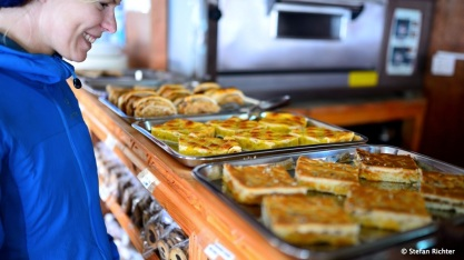 Die Bäckerei in Namche. Ein Muss vor und nach dem Trek.