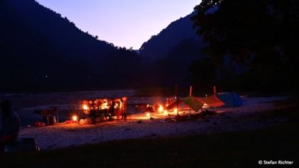 Abendstimmung am Seti River.