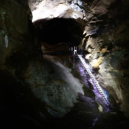 Die Siddha Gupha. Die größte Höhle in Nepal.