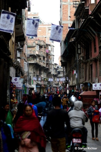 Streetlife Kathmandu.
