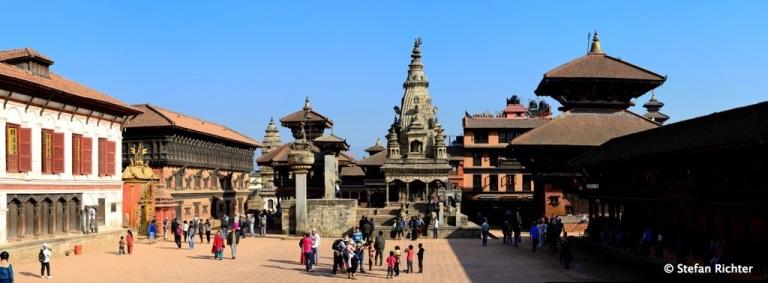 Bhaktapur hat ebenfalls einen Durbar Square.