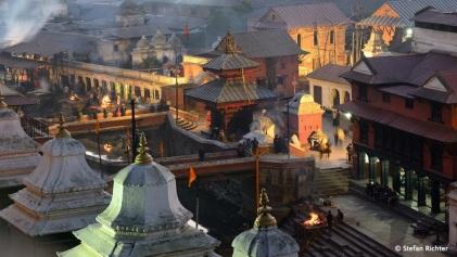 Leider haben nur Hindus Zutritt zum Inneren der Tempel.