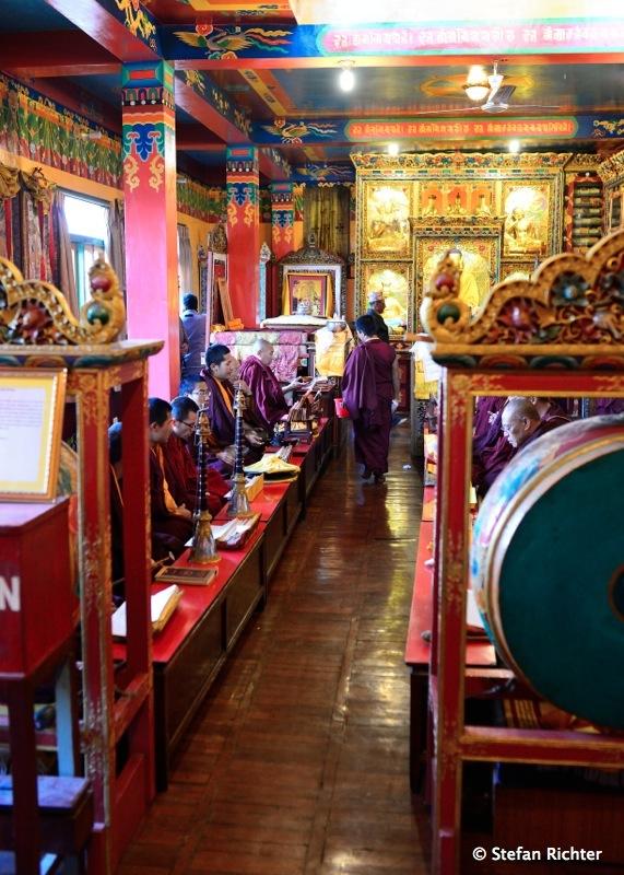 Die buddhistischen Tempel darf man wieder betreten.