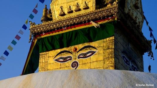 Buddah's Eyes // Swayambhu