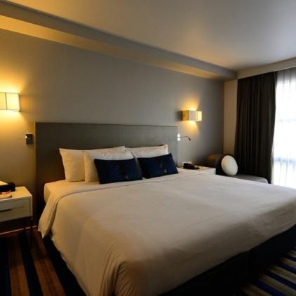 Unser 4****-Hotel Zimmer für ganze drei Nächte.