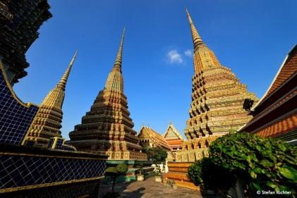 Wat Pho ist der größte und älteste Tempel in Bangkok.