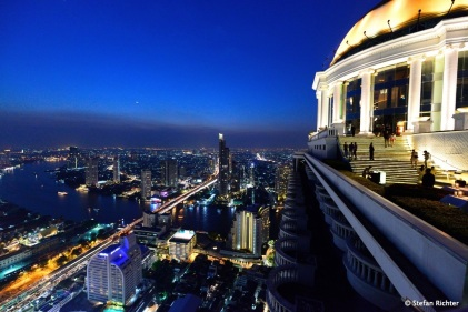 """""""Hangover-Feeling"""" in der Skybar @ Lebua State Tower."""