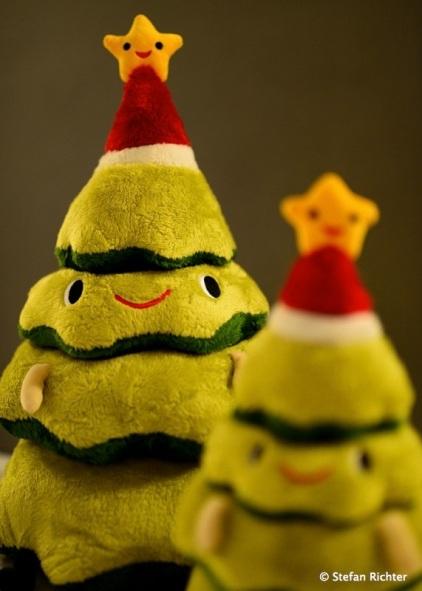 Reisetaugliche Weihnachtsdeko. Einer für Julia und Ryan und einer für uns :-)