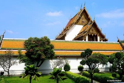 Typisches Bild in Bangkok.