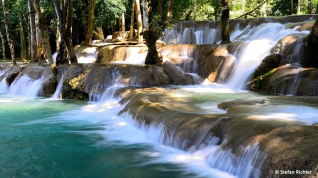 Tat Sae Wasserfall.