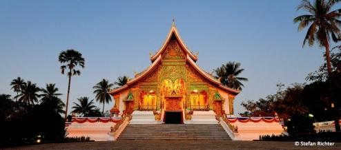 Stefans neuer Lieblingstempel: Wat Ho Pha Bang.