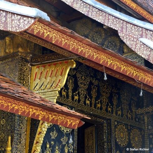 Die Tempel in Luang Prabang haben eine eigene Architektur.