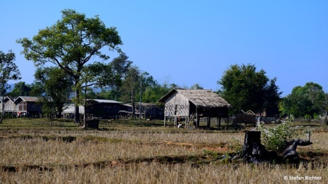 Irgendwo auf dem Land in Laos.