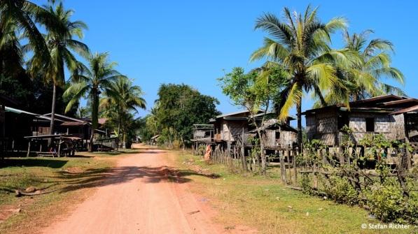 Das Dorf Nong Bua in der Salavan Provinz.