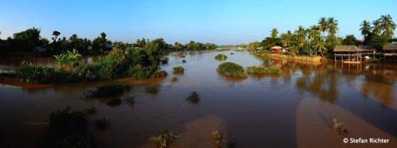 Mekong Delta zwischen Don Det und Don Khon - 4.000 Islands.