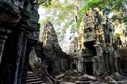 Ta Promh ist bei den Touristen besser bekannt als der Tomb Raider Tempel.